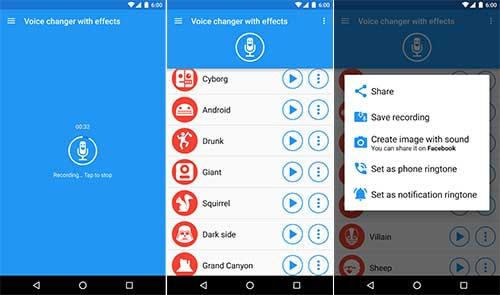 voice changer for streaming