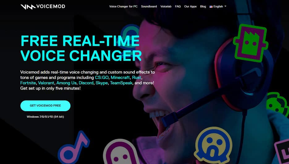 Voicemod: Real Time Voice Changer