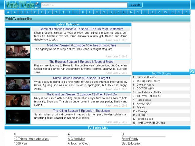 TV Series Net