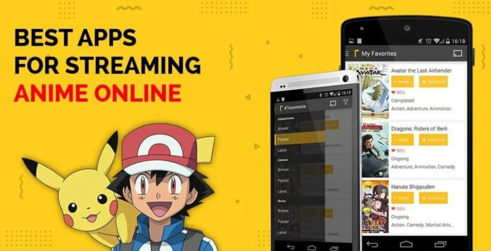 free anime apps